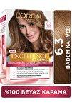 Excellence Creme Saç Boyası 6.30 Badem Kahvesi