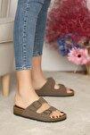 Kadın Vizon Sandalet