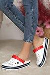 Unisex Beyazlacivert Sandalet