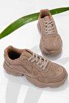 Vizon Süet Kadın Sneaker K01876010065