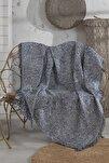 Siyah Tiger %100 Pamuk Koltuk Örtüsü 180x210