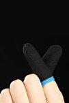 Saez Yeni Nesil Mobile Oyun Pubg Parmak Eldiveni Hissiz Terlemeyi Önleyen Yapı 1 Çift Siyah,mavi