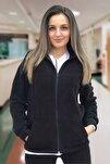 Kadın Cep Detaylı Polar Hastane Ceketi