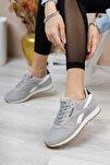 Gri Beyaz Unisex Sneaker 0012853