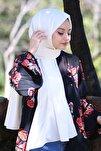 Kadın Beyaz Cotton Pamuk Şal Ck01