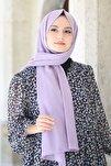 Kadın Lila Cotton Pamuk Şal Ck01