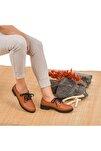 Kadın Taba Hakiki Deri Ayakkabı