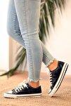 Kadın Siyah Cilt Ayakkabı
