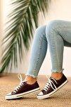 Kadın Bordo Açma Ayakkabı