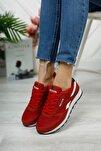 Kırmızı Beyaz Unisex Sneaker 0012853