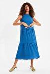 Mavi Geniş Kesim Elbise TWOSS20EL1864