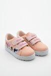 Kız Çocuk Pembe Yazlık Baskılı Spor Ayakkabı