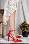 Kadın Kırmızı Yüksek Topuk Stiletto