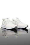 Unisex Beyaz Gri Spor Ayakkabı 2103