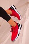 Ava Kadın Kırmızı Sneaker