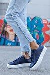 Ch013 Bt Kadın Ayakkabı Lacivert