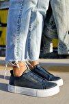 Ch011 Bt Kadın Ayakkabı Lacivert