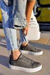 Ch011 Bt Kadın Ayakkabı Antrasit