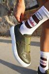 Ch033 Bt Kadın Ayakkabı Haki