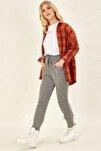 Cep Detaylı Pantolon - Gri
