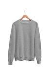 Kadın Gri Wear Sweatshirt