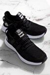 Unısex Siyah Spor Ayakkabı