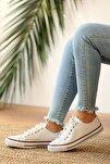 Kadın Beyaz Cilt Ayakkabı