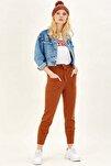 Kadın Bisküvi Cep Detaylı Pantolon