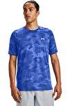 Erkek Spor T-Shirt - M Streaker 2.0 Inverse Ss - 1356176-401