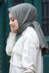 Kadın Haki Cotton Pamuk Şal Ck01