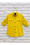 Erkek Çocuk Sarı Gömlek 1140