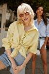 Sarı Boyfriend Gömlek TWOAW20GO0115