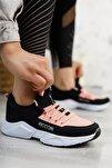 Unisex Siyah Pudra Sneaker 0012072
