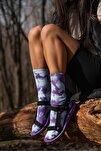 Kadın Siyah Step Çırtlı Trekking Sandalet