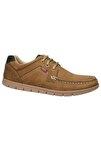 Hakiki Deri Kum Erkek Bağcıklı Klasik Ayakkabı M5195nku