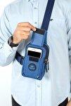 Unisex Keten Telefon Bölmeli Bel Ve Çapraz Omuz Çanta Göğüs Seyahet Günlük Bodybag