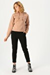 Kadın Siyah Salaş Desensiz Pantolon 10225280 VMMAYA