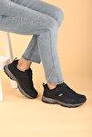 Erkek Siyah Bot Ayakkabı Flake Su Geçirmez