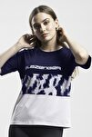 PREVIOUS Kadın T-Shirt Lacivert ST10TK018
