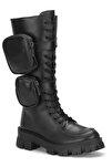 Siyah Kadın Çizme DS.MKA224