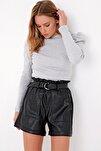 Kadın Grimelanj Prenses Kol Yarım Balıkçı Şardonlu Crop Bluz ALC-X5042