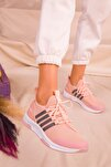 Pudra-Fume Kadın Sneaker 15195
