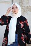 Kadın Ekru Cotton Pamuk Şal Ck01