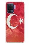 Reno 5 Lite Pure Modern Desenli Silikon Kılıf Ay Yıldız Mustafa Kemal Atatürk