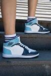 Erkek Kadın Spor Ayakkabı Mavi