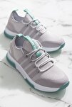 Unısex Gri Yeşil Spor Ayakkabı Tbqnt