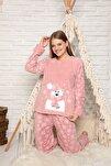Kadın Pudra Welsoft Pijama Takim