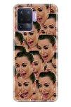 Reno 5 Lite Pure Modern Desenli Silikon Kılıf Kardashian Cry