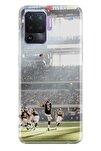 Reno 5 Lite Uyumlu Pure Modern Desenli Silikon Kılıf Amerikan Futbol