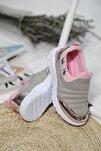 Calli Tabitha Bağcıksız File Detaylı Çocuk Sneaker